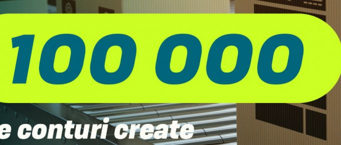 100000 conturi create