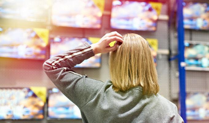alegere televizor magazin