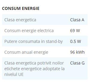 clasa energetica noua 2021 televizor eMAG