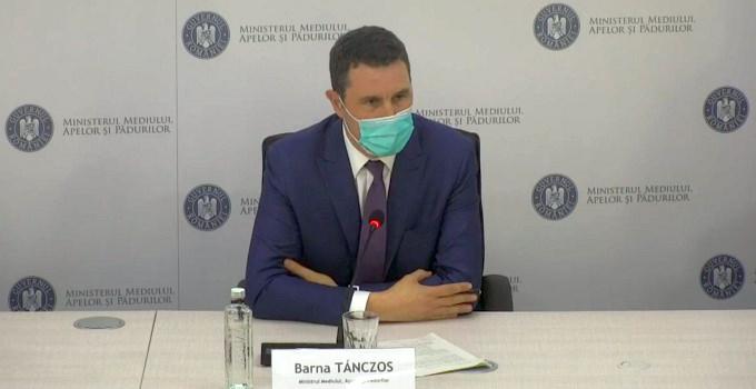 cofnerinta de presa Ministrul Mediului Tanczos Barna