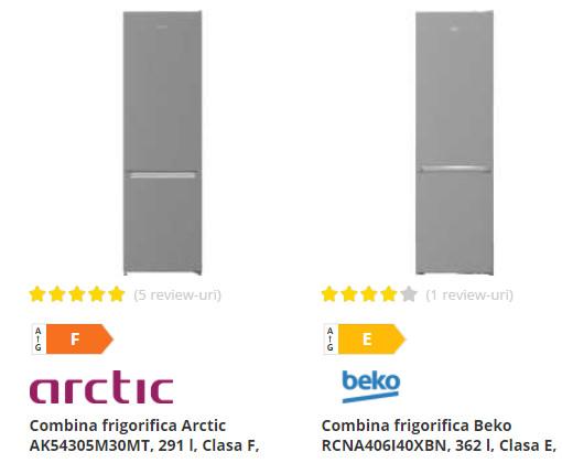 combine frigorifice Arctic Beko Flanco