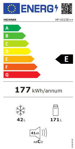 eticheta clasa eficienta energetica frigider