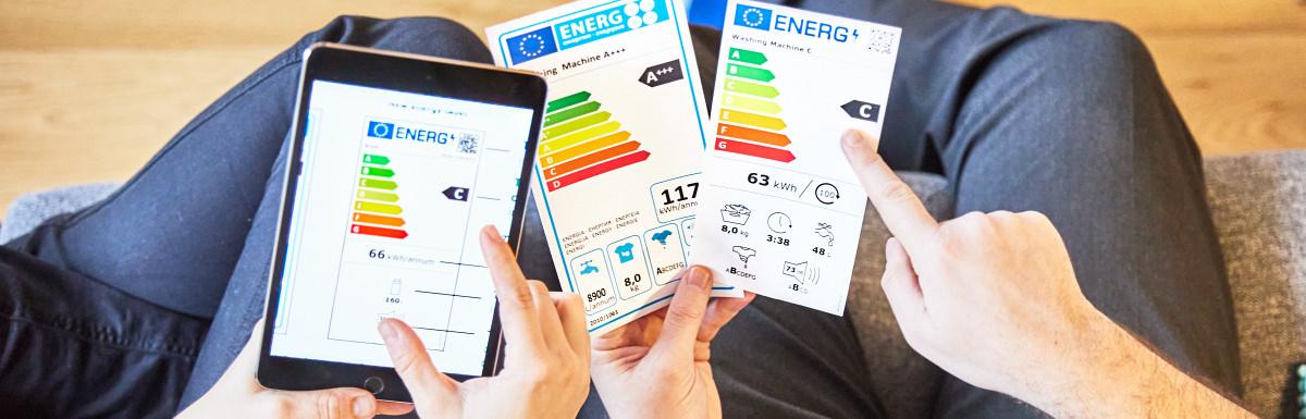 etichete clase energetice noi UE martie 2021