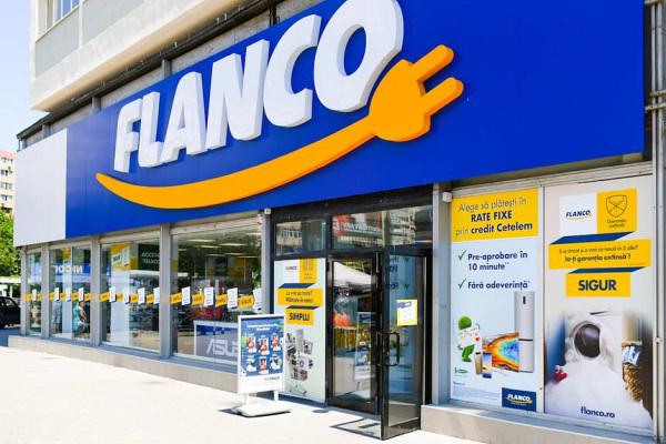 intrare magazin Flanco