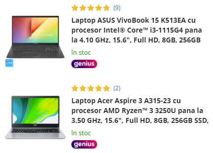 laptopuri oferta eMAG