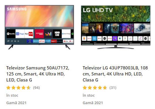 oferta televizoare emag rabla electrocasnice