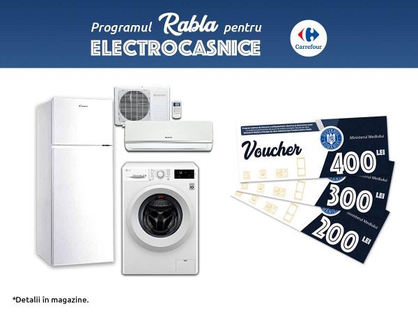 rabla electrocasnice Carrefour