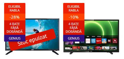 stoc epuizat televizoare rabla electrocasnice 2021