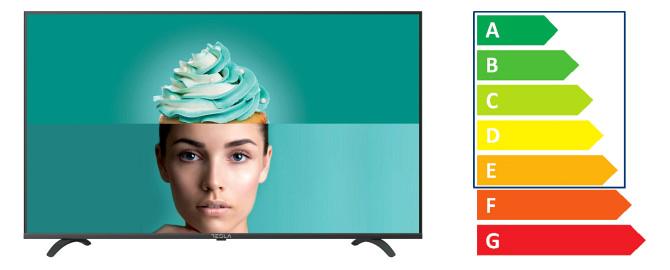 televizor clasele energetice A B C D E